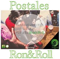 Campaña Ron&Roll (mojito) Postales. A Advertising project by Nitzia Venegas Torres         - 04.08.2014