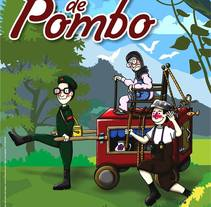 la carreta de pombo.. A Character Design, and Crafts project by artes gato negro         - 04.08.2014