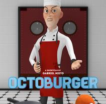 Octoburger. A 3D project by Gabriel Nieto         - 24.10.2016