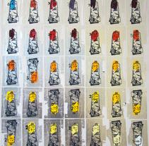 Carta de Colores - Atardecer. Um projeto de Artes plásticas, Pintura e Serigrafia de Rómulo Martínez         - 05.10.2013