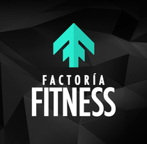 Branding Factoría Fitness. A Br, ing, Identit, and Graphic Design project by Mokaps          - 26.04.2014
