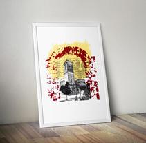 Serigrafia Villarejo de la Peñuela. Un proyecto de Diseño gráfico y Serigrafía de Paolo Ocaña         - 28.08.2014