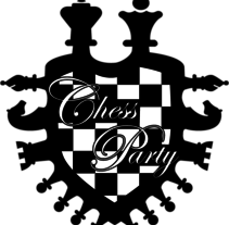 Chess Party logo. A Graphic Design project by Sheila Martorell         - 05.05.2011