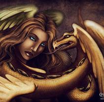 Enchanted Visions III. Un proyecto de Ilustración y Diseño de personajes de Mónica N. Galván         - 13.11.2012