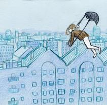 Viento. Um projeto de Ilustração de Irene Calvo Sánchez         - 14.08.2014