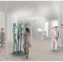 ESPACIO CREACIÓN. A 3D, Interior Architecture&Interior Design project by MARIA POZO         - 11.09.2014