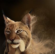 Lynx Pardinus. Un proyecto de Ilustración, Bellas Artes y Pintura de Jaime Sanjuan Ocabo - 09-09-2014