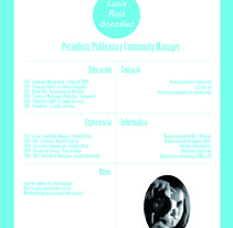 CV. Un proyecto de Diseño, Publicidad, Marketing y Escritura de Lucia Ruiz         - 14.09.2014