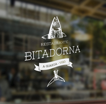 Restaurante Bitadorna. A Br, ing, Identit, Cooking, and Graphic Design project by TheTrendingMarket - 21-09-2014