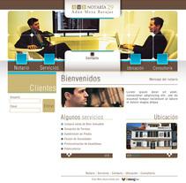 Notaría 29. A Web Design project by Ernesto Gutiérrez Andrade         - 07.04.2010
