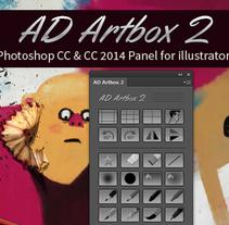 AD Artbox 2 for Photoshop CC & CC 2014. Un proyecto de Diseño e Ilustración de Alex Dukal - 27.09.2014