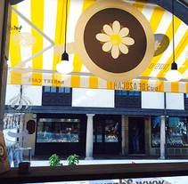 Dos de Azúcar Bakery Café en Oviedo. A Design&Illustration project by soniaymas - Jul 20 2014 12:00 AM