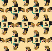 Egypt. Um projeto de Design, Ilustração, Design de vestuário e Artes plásticas de Susana López         - 01.10.2014