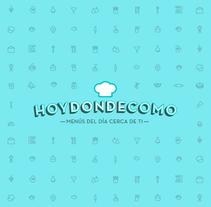 Hoydondecomo. Un proyecto de Br, ing e Identidad, Diseño gráfico y Desarrollo Web de Wild Wild Web  - 02-10-2014