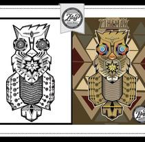 Del Boceto al Digital. Un proyecto de Ilustración y Diseño gráfico de Zilap Estudio         - 06.10.2014
