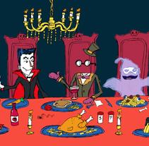 Los monstruos se divierten. Um projeto de Design, Ilustração, Design de personagens e Artes plásticas de Miquel Mansachs         - 07.10.2014