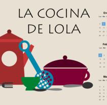 La Cocina de Lola. Um projeto de Ilustração e Design gráfico de manugomez - 08-10-2014