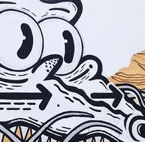 festival de arte urbano . Um projeto de Design de personagens e Pintura de Maikol De Sousa         - 08.10.2014
