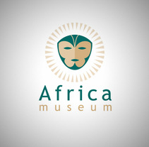 Africa Museum Logo. A Graphic Design project by FRANCISCO POYATOS JIMENEZ         - 29.02.2004