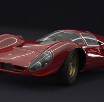 AUTOMOTIVE CGI. Un proyecto de 3D de luis C García         - 11.10.2014