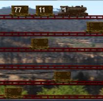 Tren Radioactivo. Um projeto de Design de jogos de Luciano De Liberato         - 12.10.2014