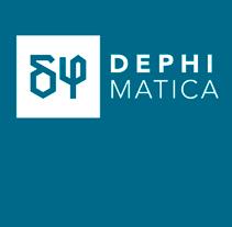 Dephimática - Identidad y web. A Br, ing, Identit, and Web Design project by Pablo Caravaca - 14-06-2012