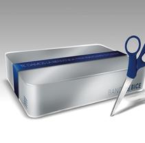 BANCO BICE / WELCOME PACK. Um projeto de Design e Packaging de Chang Hyon Lee         - 19.10.2014