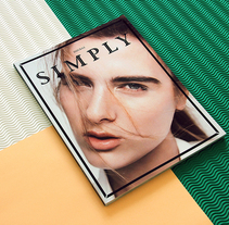 SIMPLY THE MAG ISSUE#3. A Art Direction, Editorial Design, and Graphic Design project by Pablo Abad - Oct 21 2014 12:00 AM