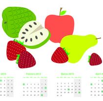 Es tiempo de fruta. Un proyecto de Ilustración de lara lorenzo moreno - 20-10-2014