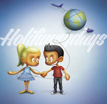 Holifunnydays Micropolix. A Illustration, Art Direction, and Character Design project by Javi Viewer         - 16.06.2013