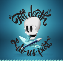 Till Death Do Us Part. A Illustration, T, and pograph project by Javi  Viewer - 17-08-2014