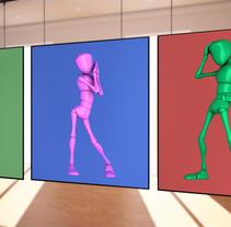 POSADOS 3D REALIZADOS CON MAYA. Um projeto de Design, 3D e Animação de Cristina Ramos de la Torre         - 21.10.2014