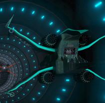 Naves 3Ds Max. Um projeto de Design, 3D e Animação de Cristina Ramos de la Torre         - 21.10.2014
