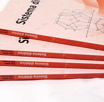 Manual sobre el Sistema Diédrico . Un proyecto de Ilustración y Diseño gráfico de César Calavera Opi - 21-10-2014