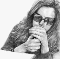 Júdith . Un proyecto de Ilustración de César Calavera Opi - 21-10-2014