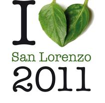 Cartel para las Fiestas de San Lorenzo 2011 . Un proyecto de Fotografía y Diseño gráfico de César Calavera Opi - 21-10-2014
