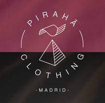 Cartelería promocional. Pirahã Clothing Madrid. A Design, and Graphic Design project by Alejandro González Cambero         - 30.09.2014