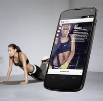Nike Training Club. A Design, and UI / UX project by Alfons Valls         - 15.09.2012
