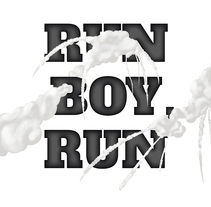 Run Boy Run . A Illustration, Graphic Design, T, and pograph project by Ricard Garcia         - 29.10.2014