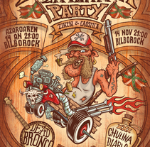 Redneck Zinema Party (2014). A Illustration, Advertising, and Graphic Design project by Leone Artworks         - 02.11.2014