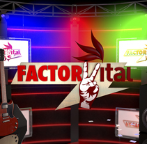 Imágen de programa Factor Vital. A Design, Motion Graphics, Film, Video, TV, Animation, and Multimedia project by David Rojas Sánchez         - 02.11.2014