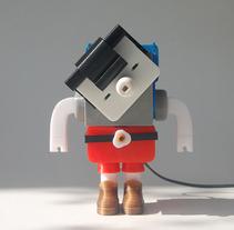 PRINTOCHO V1.0. Un proyecto de Diseño de personajes, Escultura y Diseño de juguetes de Raul Real         - 06.11.2014