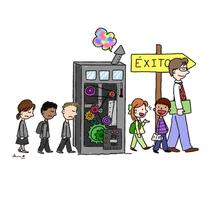 Del fracaso escolar al éxito escolar. Un proyecto de Ilustración de Marina Morcillo Gómez - 07-11-2014