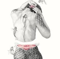 Metamorfish. Un proyecto de Ilustración, Dirección de arte, Diseño editorial y Bellas Artes de Elisa Ancori          - 13.11.2014