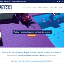 Web corporativa ENMA DECORACIÓN. Un proyecto de Marketing, Diseño Web y Desarrollo Web de Chelo Fernández Díaz - Lunes, 17 de noviembre de 2014 00:00:00 +0100