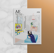 AE mag issue#1. A Art Direction, Editorial Design, and Graphic Design project by Pablo Abad - Dec 04 2014 12:00 AM