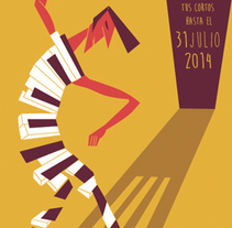 Cartel Daroca & Prision Film Fest III. A Illustration project by Rubén Bellido Gracia         - 03.12.2014