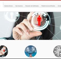 www.portalcertificado.es. A Web Design project by Adolfo Martinez San Jose         - 09.12.2014