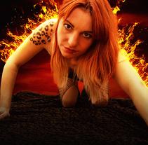 La chica de fuego. A Photograph project by Alberto Menendez - 06-12-2014