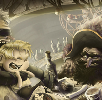 De Reyes, Piratas y valientes barrigones. A Fine Art project by Miguel Angel Rodriguez Touceiro - 11-12-2014